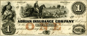Adrian Insurance Company currency