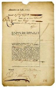 annuities 1774-02-07