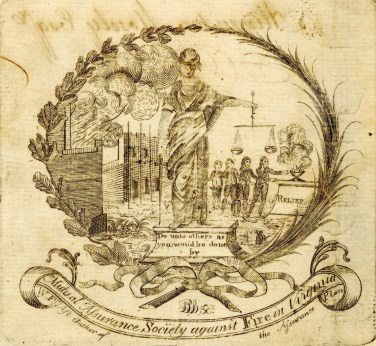fire policy 1796 engraving