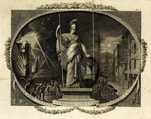 engraving, life insurance policy 1791