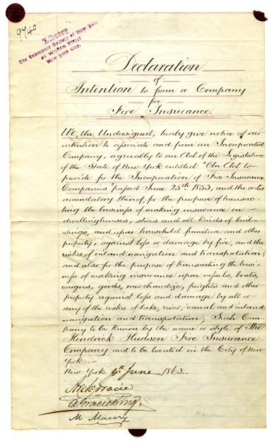 declaration page 1