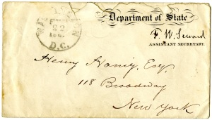 Envelope 1861 front